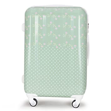 WAOWAO multicolor hardside luggage 28 inch
