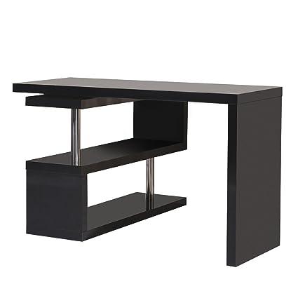 Mesa Escritorio de Ordenador PC + Libreria para Oficina Hogar ...