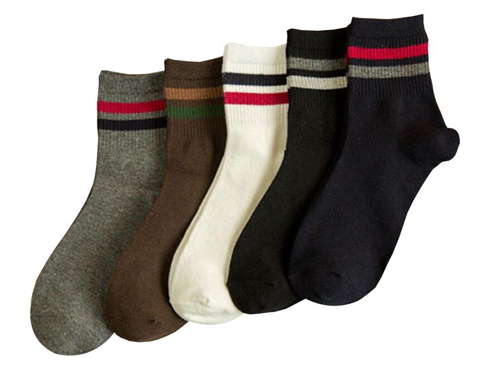 Weiche Winter Herbst Warm Socken für Männer - 5 Paar Black Temptation