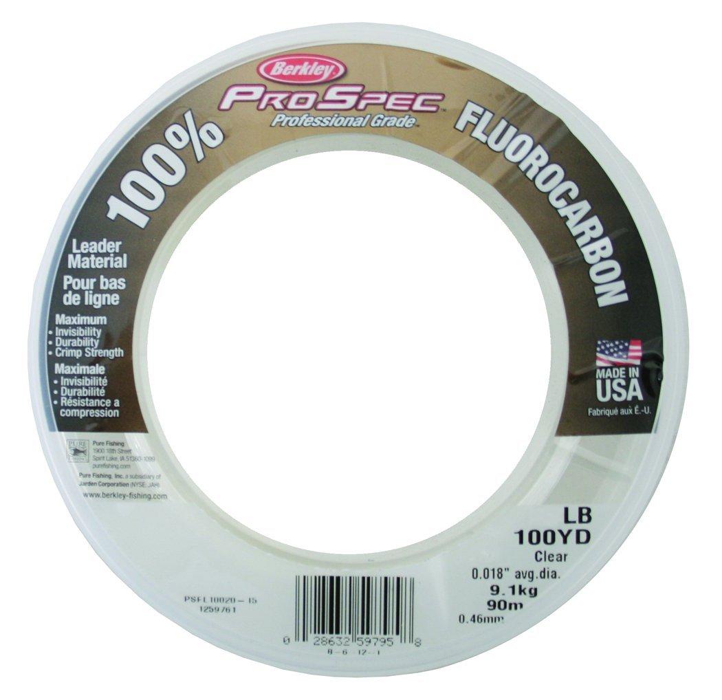 Berkley ProSpec 100 Fluorocarbon Leader Material Fishing Line