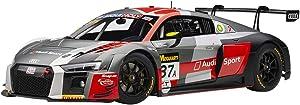 Audi R8 LMS #37A Dries Vanthoor, Robin Frijns, Stuart Leonard Winners Bathurst 12 Hours (2018) 1/18 Model Car by Autoart 81800