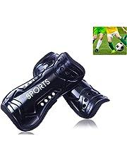 AUVSTAR Youth Calcio parastinchi, 1Paio, Leggero e Traspirante Bambino Vitello Protettiva Gear Soccer Attrezzature per 3–10Anni per Bambini Adolescenti
