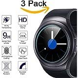 Samsung Gear S2 Displayschutzfolie, (3er-Pack) KIMILAR Premium gehärtetem Glas Displayschutz Folie für Samsung Galaxy Gear S2 klassische Smart Watch