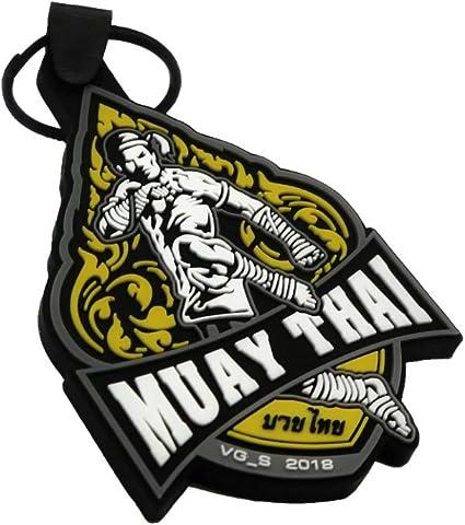 MUAY THAI BOXING MARTIAL ART SPORT KEYRING KEYCHAIN KEY CHAIN /'KAO/'