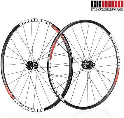 Tianyitrade 700c Rennrad Räder Nabe Felge Für 700 X 32 42c Reifen 1820 G Scheibenbremse 19 Cx1800 Legierung Sport Freizeit