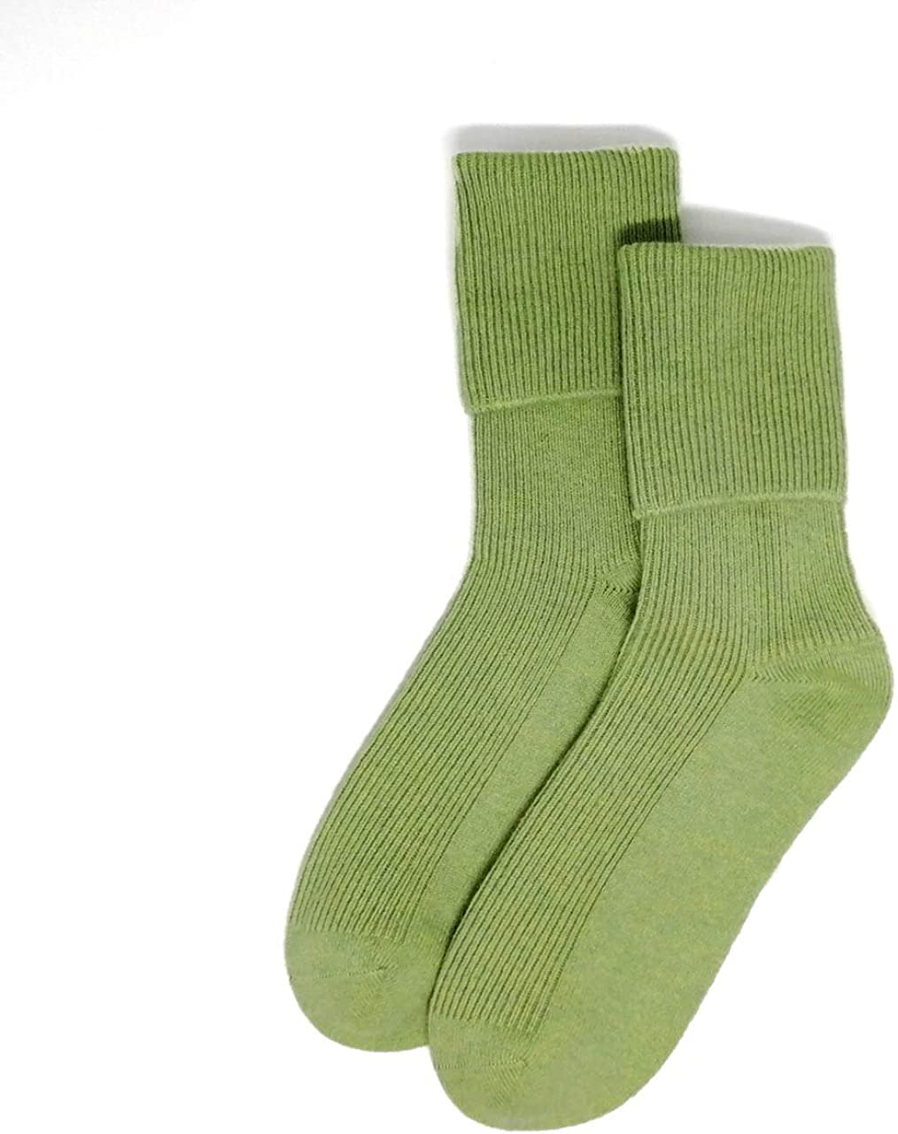 2 Pairs of Ladies Cashmere Blend Luxury Ankle Socks Black Size 4-7