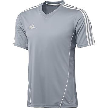 Adidas Camiseta Estro Plata-Blanca Talla 2XL: Amazon.es: Deportes y aire libre