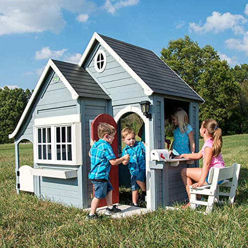 Backyard Discovery Spring Cottage Cedar Playhouse ()