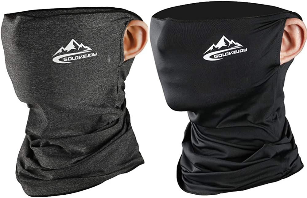 Neck Gaiters For Women Summer Ice Silk Cooling Balaclava Bandana Prevent Dust UV