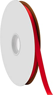 """product image for Berwick Offray 3/8"""" Single Face Satin Ribbon, Red, 100 Yds"""