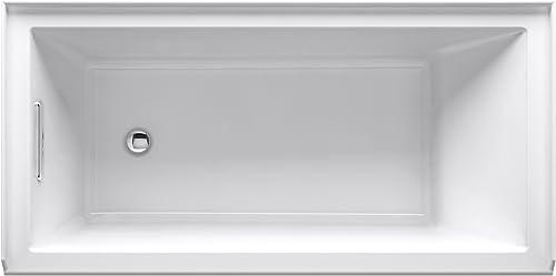 KOHLER K-1121-L-7 Underscore 60″ x 30″ Alcove Bath