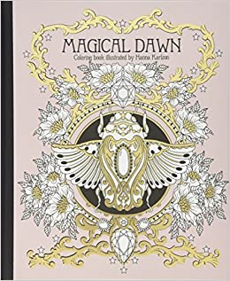 Magical Dawn Coloring Book: Published in Sweden as \