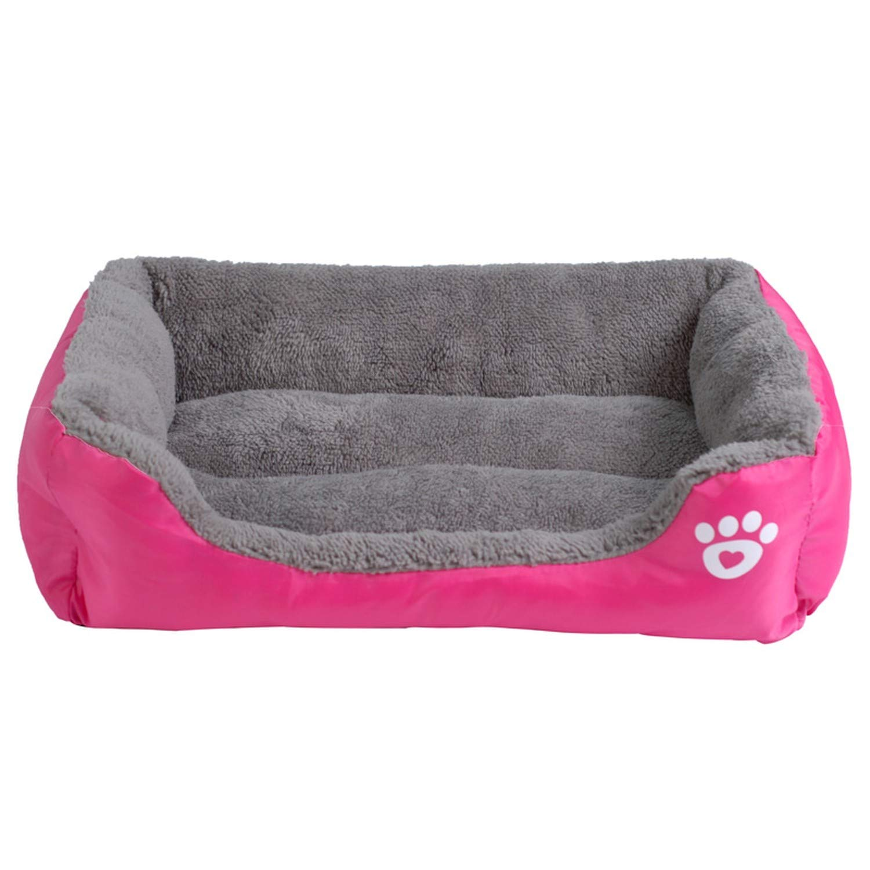 Amazon.com : Sex Appealing S-3XL 9 Colors Paw Pet Sofa Dog Beds Waterproof Bottom Soft Fleece Warm Cat Bed House Petshop Dropshipping cama perro, Fushia, ...