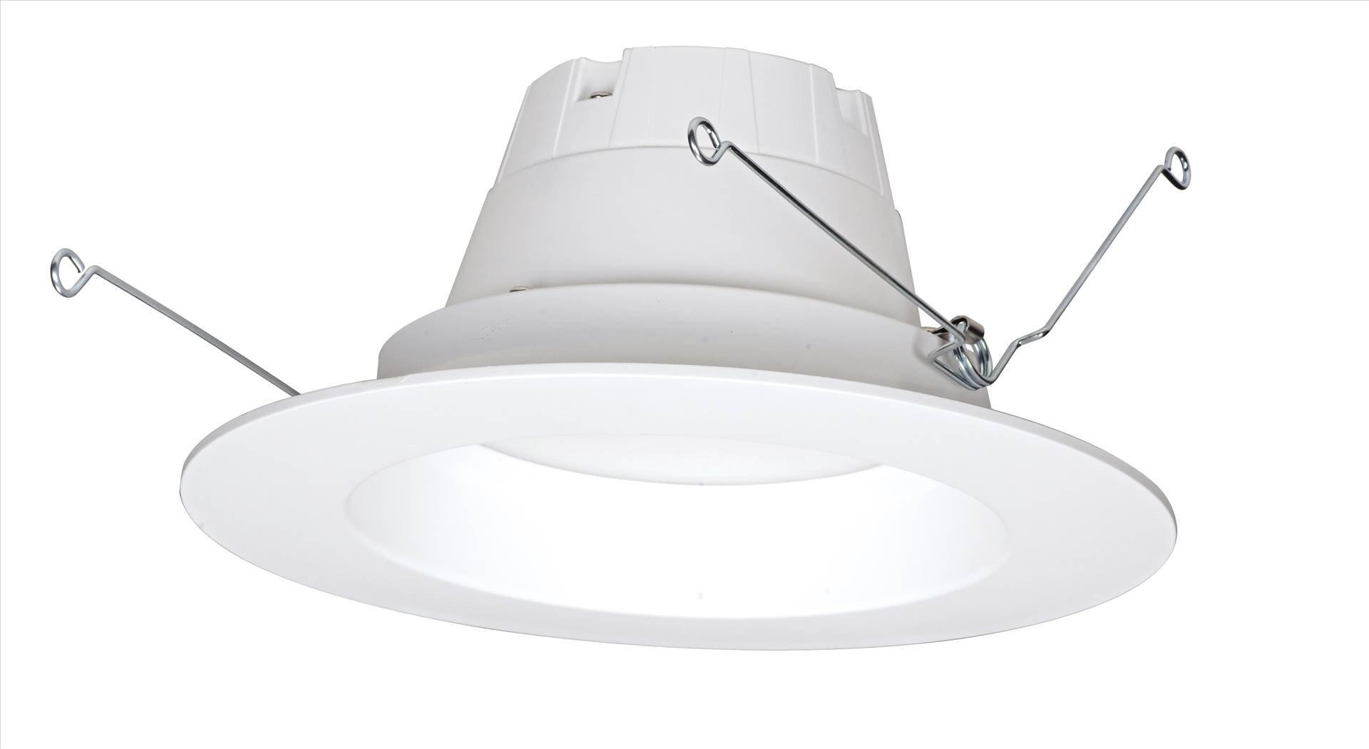 Satco S9314 5''/6'' LED Recessed Downlight Retrofits, White