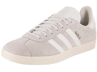 new arrival 845e9 73601 adidas Men s Gazelle Originals Casual Shoe 8.5 White