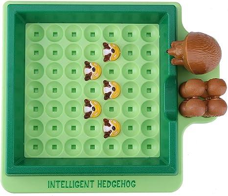 Divertido erizo de juguete de escape Juego de mesa educativo interactivo para la familia Juego educativo de Maze Juguetes para niños niñas de 3 años: Amazon.es: Bebé
