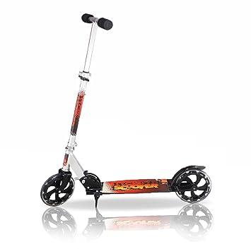Patinete Freestyle de aluminio plegable, dos ruedas de 20 cm ...