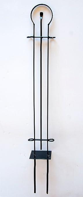 """Dandibo designer gartenzaun """"dekor"""" zaunelement 90 cm zaun metall ..."""