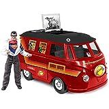 DC Comics Bus Playset for 8 Inch Retro Figures: Superman With Exclusive Clark Kent Figure