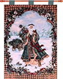 Manual Spirit of Nature By Lena Liu Lined Jacquard Tapestry Wallhanging with Rod, 26×36″, Multi Review