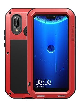 Amazon.com: Love Mei Funda para Huawei nova 3e (5,84 ...