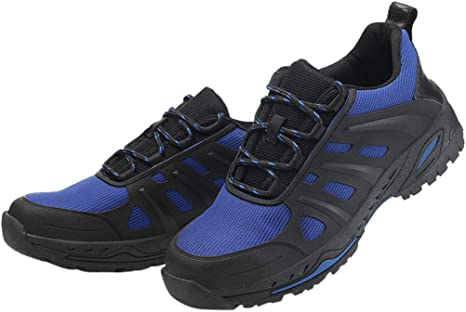 Mujer Hombre Zapatillas De Seguridad Deportivos con Puntera De Acero, Zapatillas Deportivas Ligeras E Industriales Transpirables Unisex Zapatillas (Azul, EU:43 27.5cm/10.8
