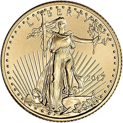 2017 American Gold Eagle (1/10 oz) $5 Brilliant Uncirculated US Mint
