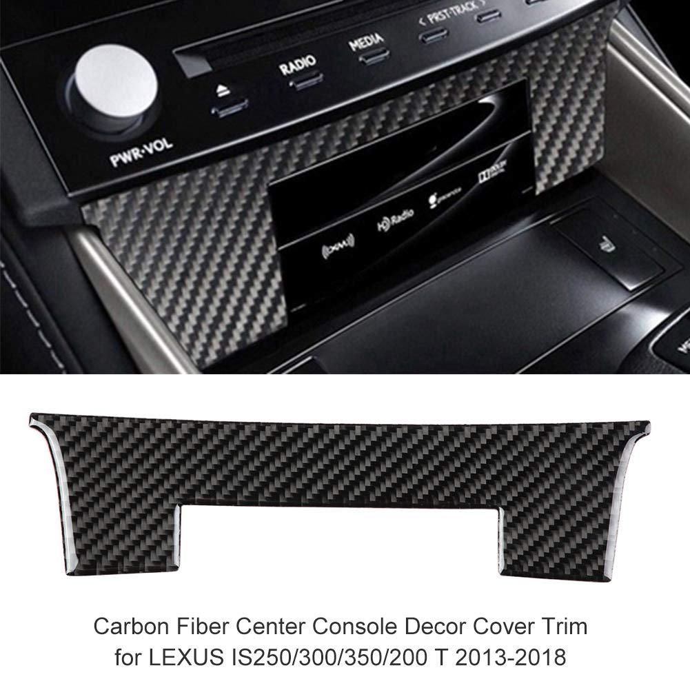 Amazon com: Carbon Fiber Center Console Decor Cover Trim for
