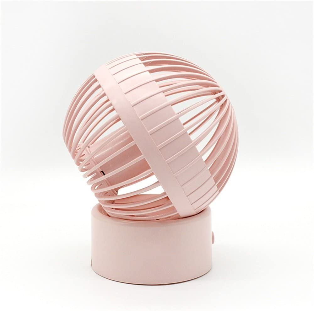 Color : Pink MDYYD Mini USB Table Desk Personal Fan Fan Handheld Portable Desk Table Mini USB for Laptop//Desktop Outdoor Small Strong Wind,Quiet Operation,for Home Office.