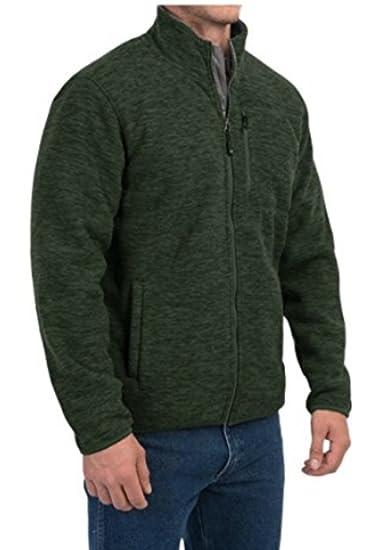 5e10170c220 32 Degrees Heat Mens Sherpa Lined Fleece Jacket at Amazon Men s Clothing  store