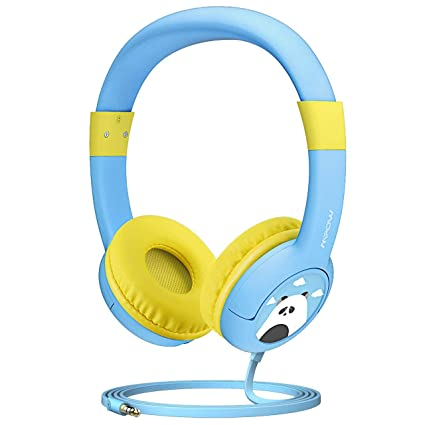 c1633519e0d Mpow CH1 Kids Headphones w/85dB Volume Limited Hearing Protection & Music  Sharing Function,
