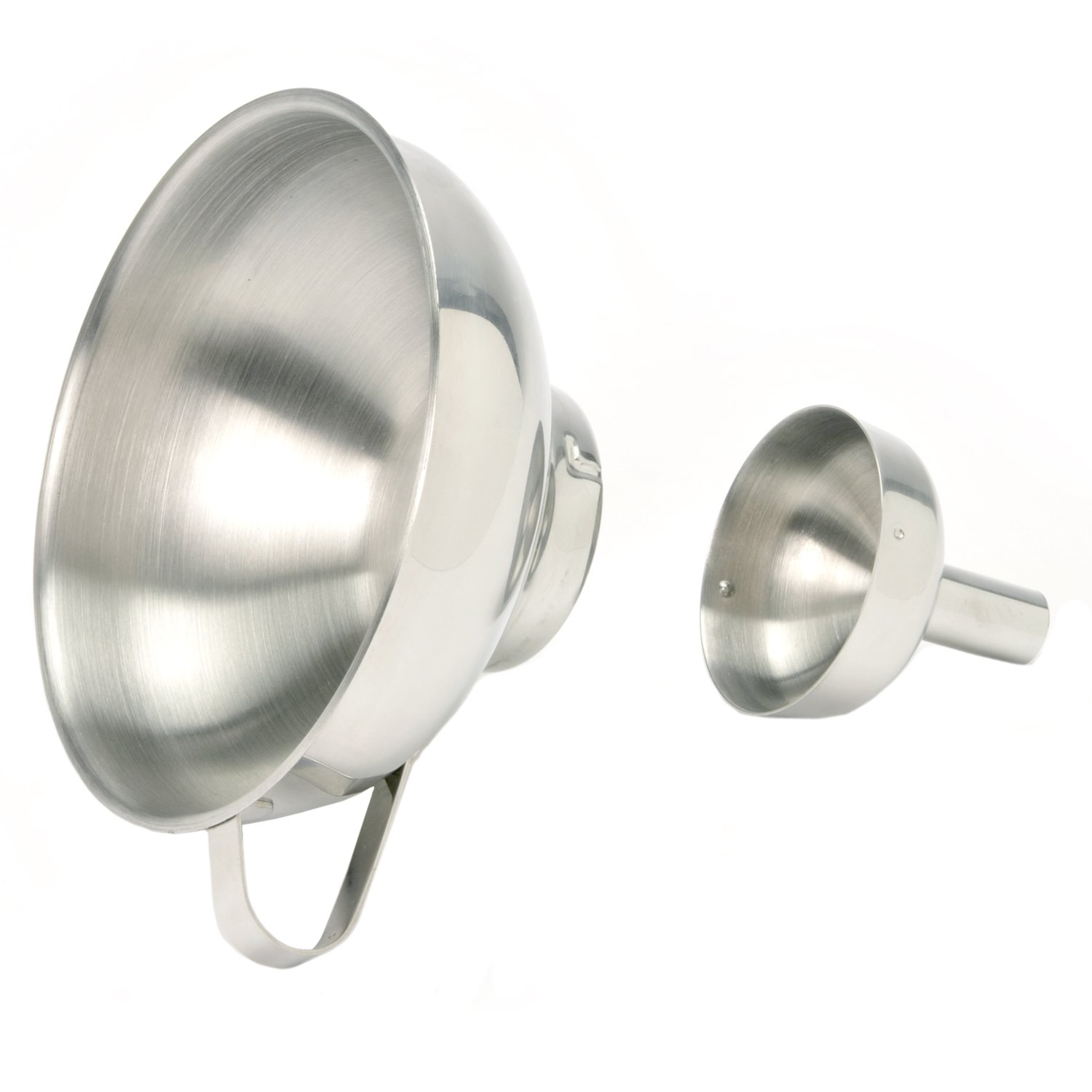 Norpro Stainless Steel Funnel with Removable Spout