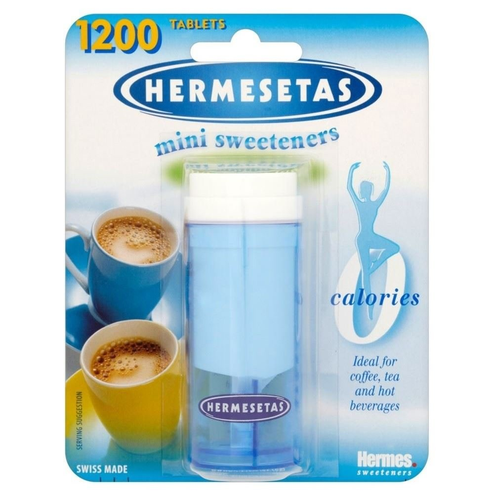 Hermesetas Mini Sweeteners (1200) - Pack of 6 by Hermesetas