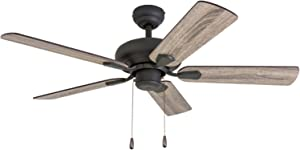 Prominence Home 50587-01 Russwood Traditional Ceiling Fan, 42
