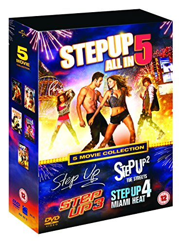 Step Up (5 Movie Collection) - 5-DVD Box - Step Up Movies Box Set
