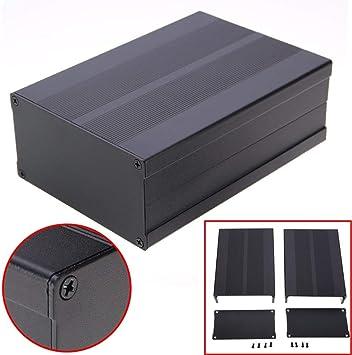 AZUDAN - Caja de Aluminio para circuitos electrónicos (150 x 105 x ...