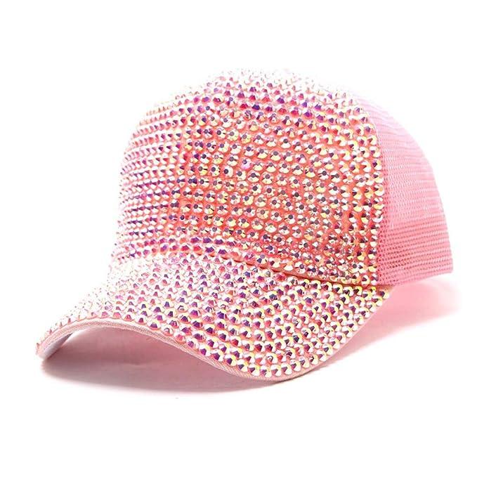 Qiiueen Sombrero De Hombre Y Mujer, Gorra Neta De Béisbol De ...