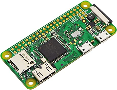 Amazon.com: Raspberry Pi Zero W (inalámbrico) (nuevo modelo 2017).:  Electronics