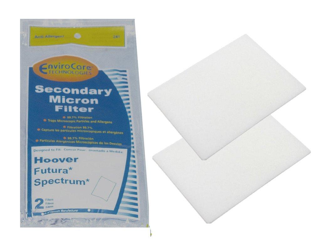 1 Hoover #38765009 Secondary Filter Futura Spectrum Canister Vacuum EnviroCare
