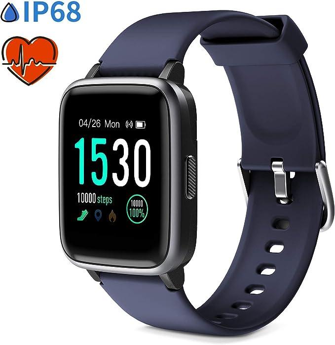 7 opinioni per Glymnis Smartwatch Telefono Touch Orologio Fitness Uomo Donna Impermeabile IP68