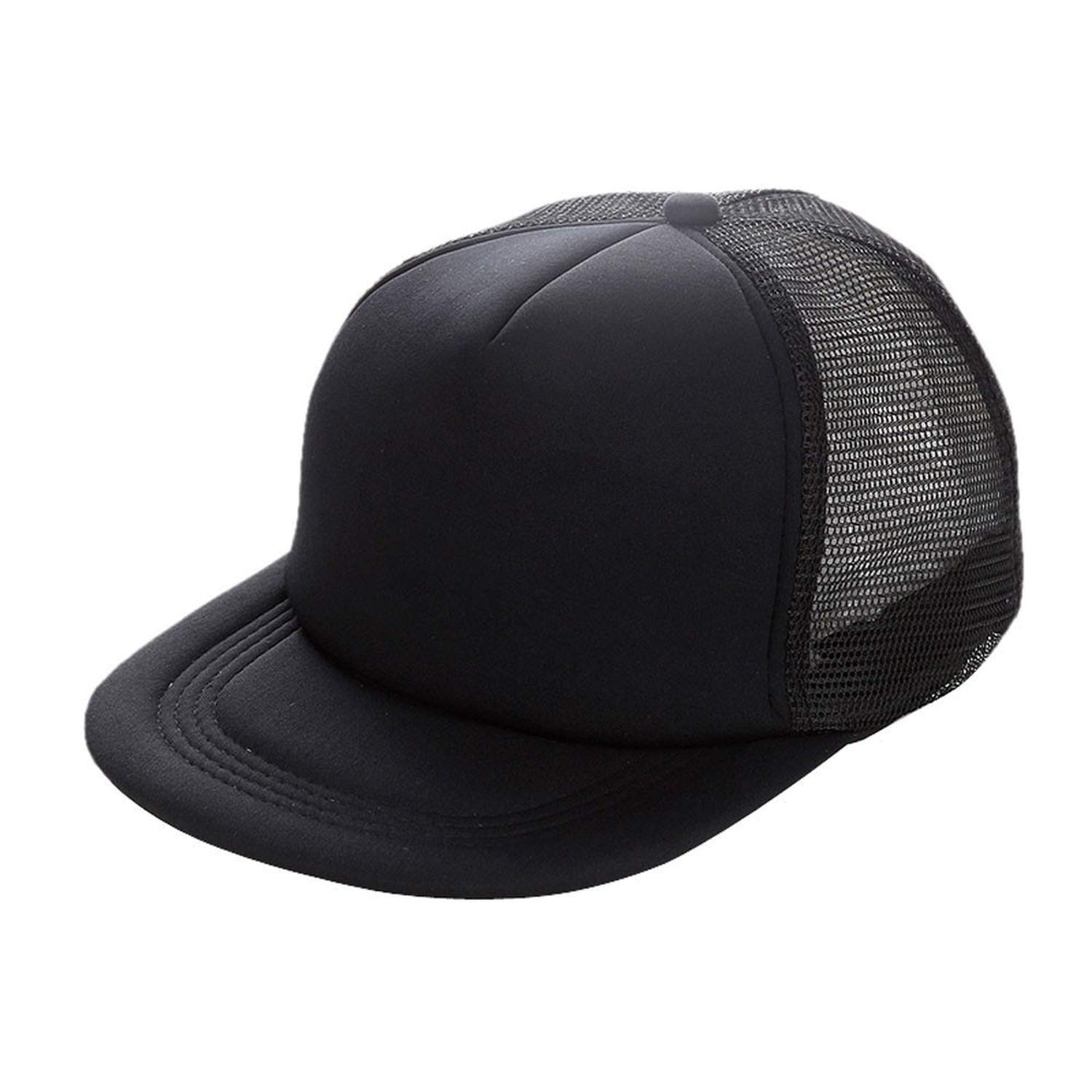 Eric Carl Baseball Cap Gorras Hombre Hats Patchwork Hip Hop Caps Mesh Cap Hats for Men Women Black at Amazon Mens Clothing store: