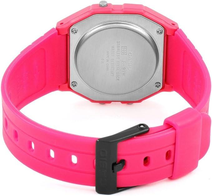 Casio Horloge F 91WC 4AEF: : Montres  68O3P