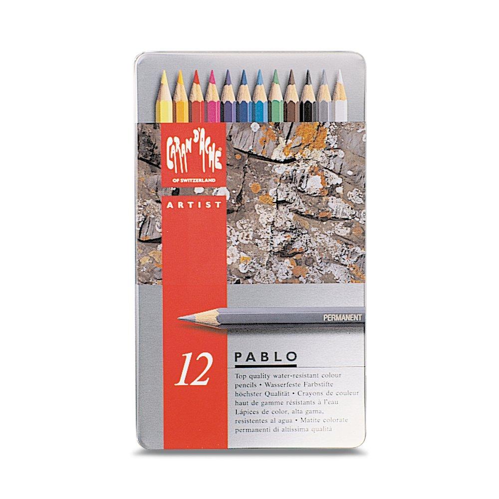 CARAN DACHE Set de 12 colores Pablo (666.312)