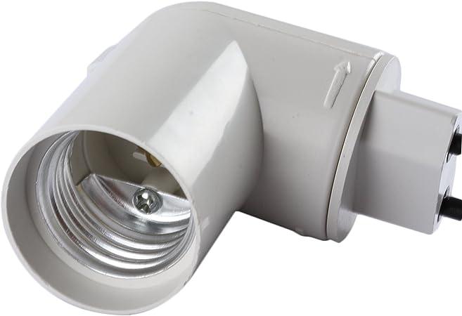 2x E27 Lampenfassung Steckdose Lampenhalter weiß Sockel Fassung Lampenhalterung