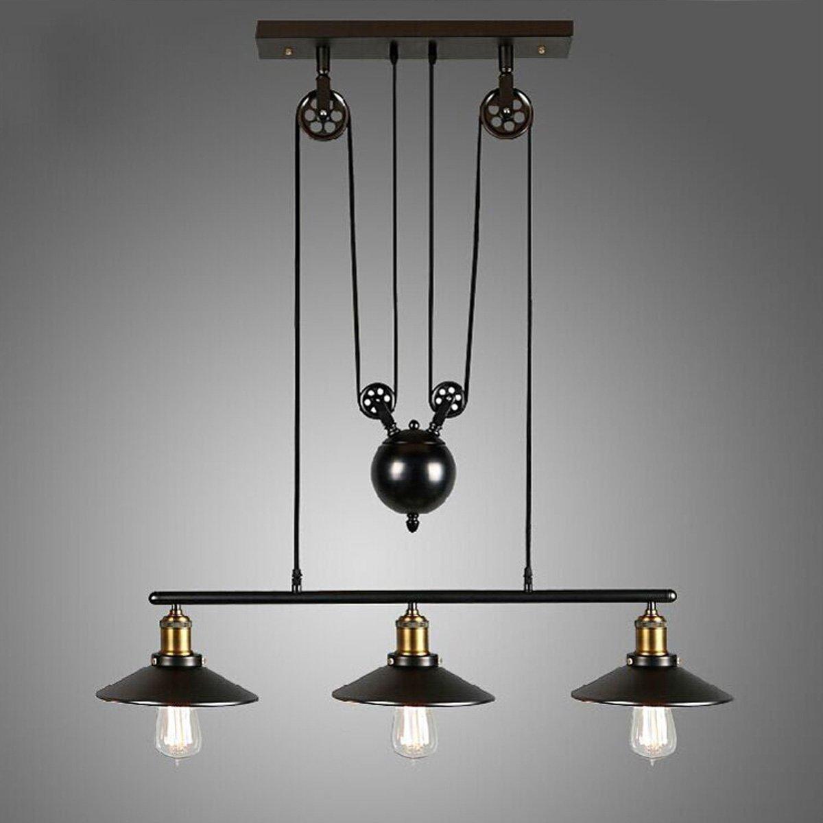 KINGSO E27 Lampe Suspensions Plafonnier Abat jour Lustre avec Douille Applique dEclairage Murale