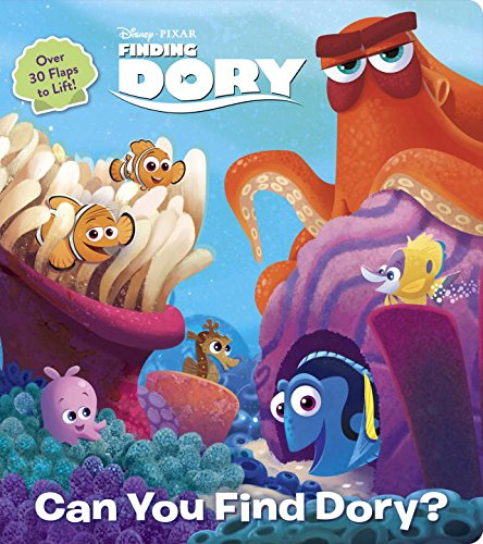 Can You Find Dory? (Disney/Pixar Finding Dory) (Lift-the-Flap) (Fish Finding)