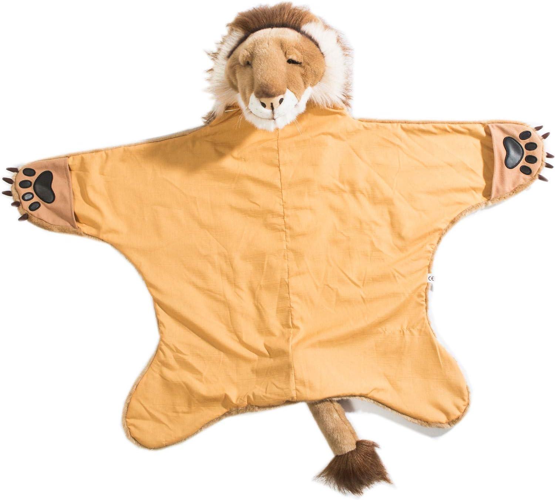 Wild & Soft Disfraz de león, Capa de león, Disfraz de niños para Carnaval, Fiestas de cumpleaños y Halloween, 90 x 115 cm