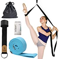 Adjustable Leg Stretcher, Lengthen Ballet Stretch Band - Easy Install on Door Flexibility Stretching Leg Strap Great…