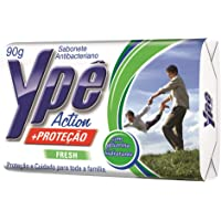 Sabonete Antibac Ypê Action Fresh 90G, Ypê, Branco