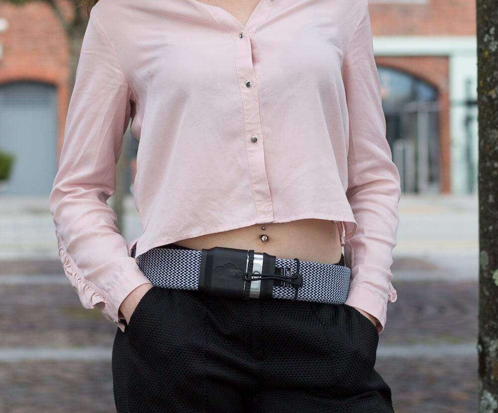 LITELOK/® Gold Wearable Edici/ón limitada de candados para bicicletas Mediano patr/ón de espiga